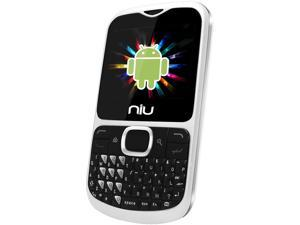 NIU NiutekQ N108 White Unlocked Dual SIM Cell Phone