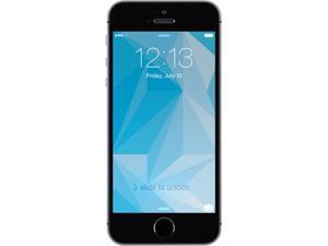100% Free Mobile Phone Service w/ iPhone 5S Space Gray - FreedomPop (Certified Pre-owned)