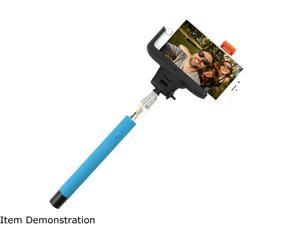 Rocksteady Blue Bluetooth Wireless Selfie Stick Bluetooth Shutter Remote SELFIE-BT-BLUE