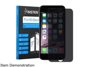 Insten Clear Privacy Anti-Spy Tempered Glass Screen Protector Guard For Apple iPhone 6 Plus 2124185