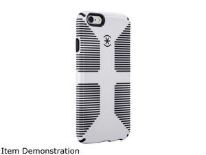 Speck Products CandyShell Grip White/Black Case for iPhone 6 / 6s 73425-1909