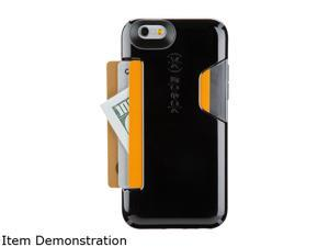 Speck Products CandyShell Card Black/Slate Grey Case for iPhone 6 / 6s 73806-B565