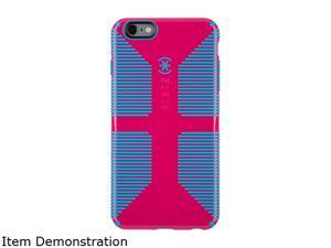 Speck Products CandyShell Grip Lipstick Pink/Jay Blue Case for iPhone 6 Plus / 6s Plus 73428-C064