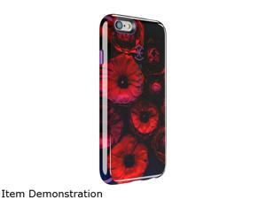 Speck Products CandyShell Inked Moody Bloom Pattern/ Acai Purple Case for iPhone 6 Plus / 6s Plus 73804-C262