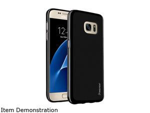 Insten Black Pudding TPU Rubber Candy Skin Case Cover Compatible With Samsung Galaxy S7 2208772