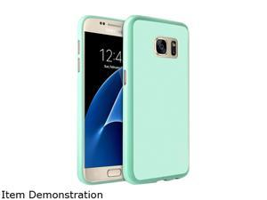 Insten Mint Green Pudding TPU Rubber Candy Skin Case Cover Compatible With Samsung Galaxy S7 2208773