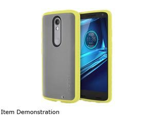 Incipio Octane Frost/Yellow Co-Molded Impact Absorbing Case for Motorola Droid Turbo 2 MT-366-FYLW