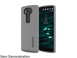 Incipio DualPro Gray/Gray Hard-Shell Case with Impact-Absorbing Core for LG V10 LGE-280-GYGY