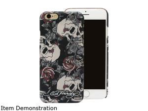 Choicee Skull Rose Black Ed Hardy iPhone 6 Case EHIP61011