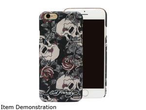 Choicee Skull Rose Black Ed Hardy iPhone 6 Plus Case EHIP61511
