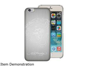 Choicee Metal Style Tiger Silver Ed Hardy iPhone 6 Case EHIP63051