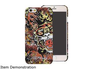 Choicee Tiger On Fire Brown Ed Hardy iPhone 6 Plus Case EHIP61661