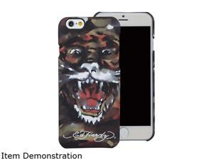 Choicee Tiger Painting Brown Ed Hardy iPhone 6 Plus Case EHIP61711