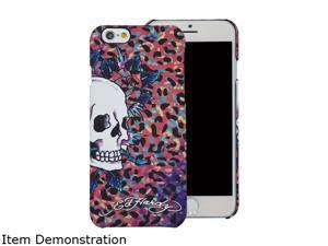 Choicee Skull Color Leopard Pink Ed Hardy iPhone 6 Case EHIP61181