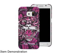 Choicee Pink Tiger Ed Hardy S6 Edge Tiger Butterfly Pink EHSS61621