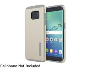 Incipio DualPro Champagne/Light Gray Hard Shell Case with Impact-Absorbing Core for Samsung Galaxy S7 edge SA-745-CHG