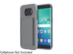 Incipio Stowaway Gray Credit Card Case with Integrated Stand for Samsung Galaxy S7 Edge SA-744-GRY