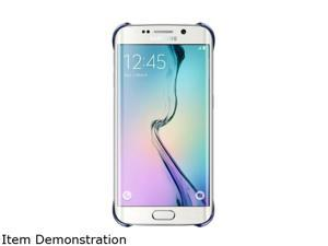 SAMSUNG Clear Black Sapphire Solid Protective Cover for Samsung Galaxy S 6 Edge EF-QG925BBEGUS