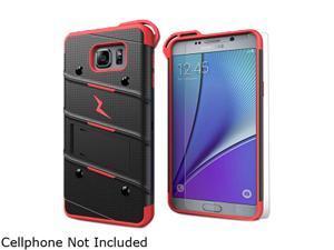 Zizo Black/Red Bolt Hybrid Case for Samsung Galaxy Note 5 1BOLT-SAMGN5-BKRD