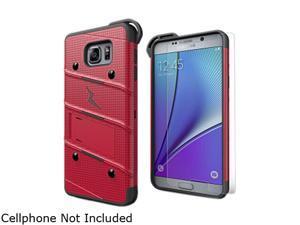 Zizo Red/Black Bolt Hybrid Case for Samsung Galaxy Note 5 1BOLT-SAMGN5-RDBK