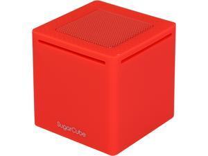 Antec SugarCube Red Ultra Portable Mini Bluetooth Speaker