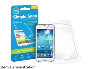 Simple Snap Samsung Galaxy S4 Tempered Glass Screen Protector SS0014