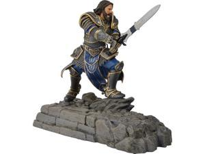 Swordfish SFW-PD1000L Warcraft Movie Collection Lothar Statue Phone Dock - Alliance (cellphone not included)
