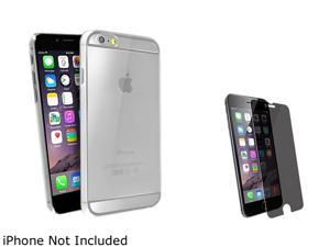 1X Snap-in Slim Case compatible with Apple iPhone 6 Plus 5.5, Clear Rear Note: Compatible with Apple iPhone 6 Plus only Protect your cell phone against dust and scratches