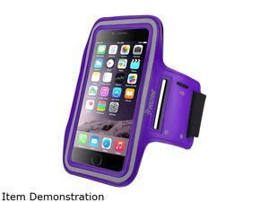 Insten Purple Sportband with built-in Key Holder For Apple iPhone 6 Plus (5.5-inch) 2036827