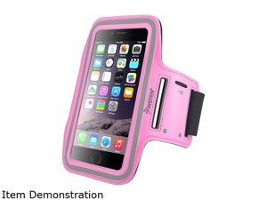 Insten Pink Sportband with built-in Key Holder For Apple iPhone 6 Plus (5.5-inch) 2036828
