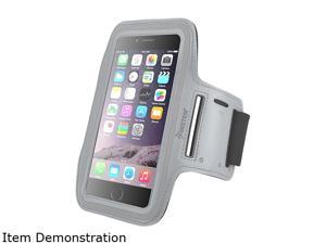 Insten Silver Sportband with built-in Key Holder For Apple iPhone 6 Plus (5.5-inch) 2036829