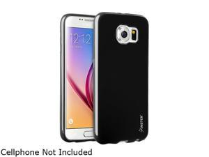 Insten Black TPU Rubber Candy Jelly Skin Case for Samsung Galaxy S6 2076370