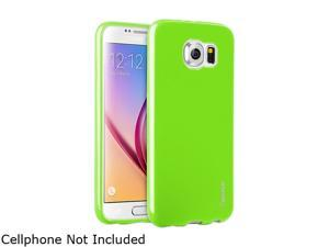 Insten Green TPU Rubber Candy Jelly Skin Case for Samsung Galaxy S6 2076371