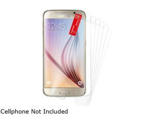 Insten Transparent 6-Pack Clear LCD Screen Protector Film for Samsung Galaxy S6 2076390