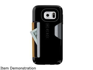 Speck Products CandyShell Card Black Ultra-protective and durable Samsung Galaxy S6 wallet case SPK-A3715