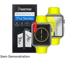 Insten Clear 3-Pack Mirror Screen Protector Shield For Apple Watch iWatch 38mm 2086700