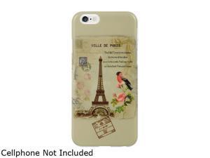 """Luxmo Apple iPhone 6 (4.7"""") TPU IMD Case Paris Stamp TIIP6PRSP"""