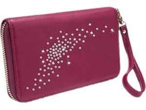 Gresso Miami Burgundy Constellation Collection Clutch/Wallet, GR11CNS027