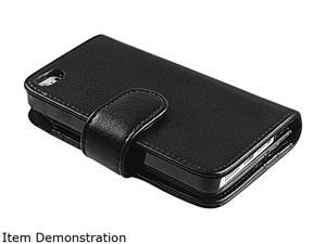 Insten Black Folio Wallet Leather Case for Apple iPhone 6 (4.7-inch) 1923775