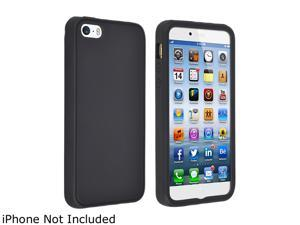 Insten Black Silicone Skin Case for Apple iPhone 6 (4.7-inch) 1923823