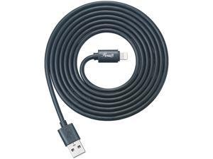 Rosewill RCCC-16002 Lightning Cable, Black, 6ft, MFi Certified