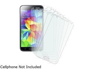 Insten Transparent 6-piece set Matte Anti-glare Screen Protector for Samsung Galaxy S5 SV 1830422