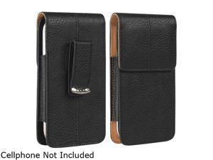 Insten Black Flip Leather Case w / Clip for Samsung Galaxy S5 SV 1830381