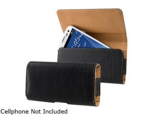 Insten Black Leather Case w / Clip for Samsung Galaxy S5 SV 1830382