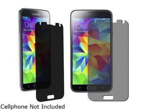 Insten Transparent Privacy Screen Filter Protector for Samsung Galaxy S5 SV 1830426