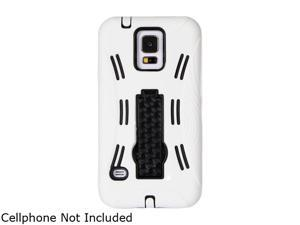 GearIT White Rugged High Impact Hybrid Armor Case Cover Stand for HTC One M8 GI-HTC-M8-HYB-IP-WH