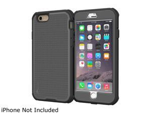 roocase VersaTough Heavy Duty PC TPU Armor Case for Apple iPhone 6 Plus / 6S Plus 5.5-inch, Gray