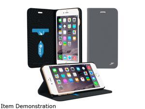 roocase Esteem Wallet Case - Folio Flip Cover with Stand for Apple iPhone 6 Plus / 6S Plus 5.5-inch