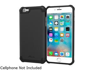 roocase Slim Fit EXEC Tough Pro Armor Hybrid PC TPU Case for Apple iPhone 6 / 6S 4.7-inch, Black