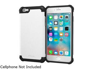 roocase Slim Fit EXEC Tough Pro Armor Hybrid PC TPU Case for Apple iPhone 6 Plus / 6S Plus 5.5-inch White